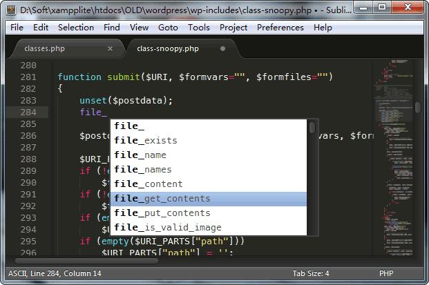 代码提示补全功能
